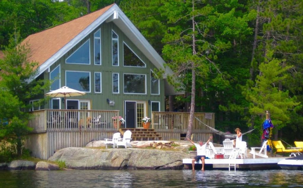 Always know EXACTLY what you are getting into with lake property