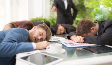 Employees Don't Slack Off